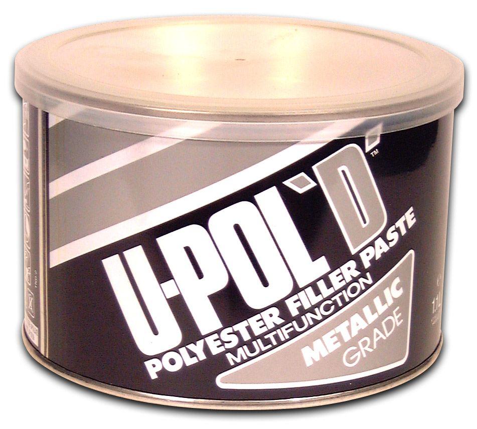 U-Pol D Пластичная шпатлевка с алюминием