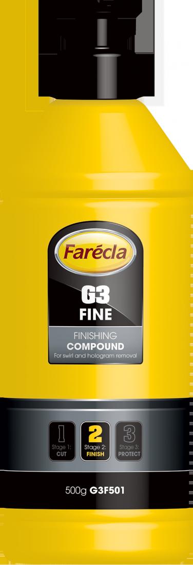 FARECLA G3 Fine Finishing Compound  - Паста для удаления мелких дефектов, 500г.